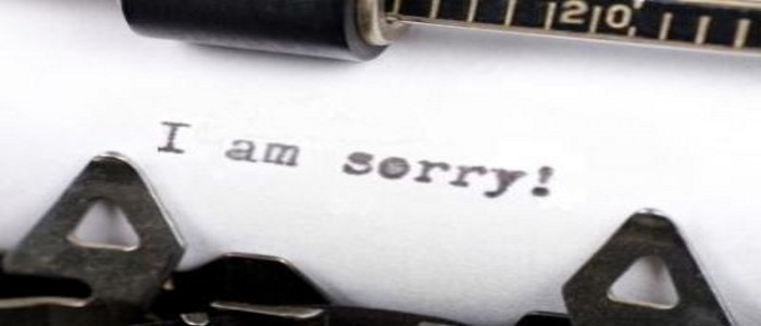 Come chiedere scusa